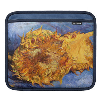 Van Gogh: Two cut Sunflowers Sleeve For iPads