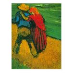 Van Gogh Two Lovers Post Card