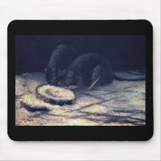 Van Gogh - Two Rats Mouse Pads