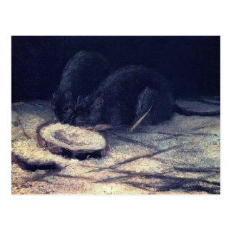 Van Gogh - Two Rats Postcards