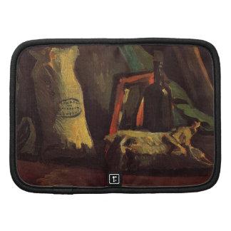 Van Gogh Two Sacks and Bottle, Vintage Still Life Organizer