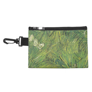 Van Gogh | Two White Butterflies Accessories Bag