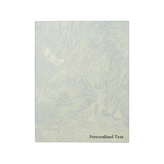 Van Gogh   Two White Butterflies Memo Note Pads