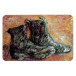 Van Gogh - un par de zapatos Imanes Flexibles