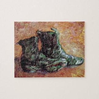 Van Gogh - un par de zapatos Puzzle Con Fotos