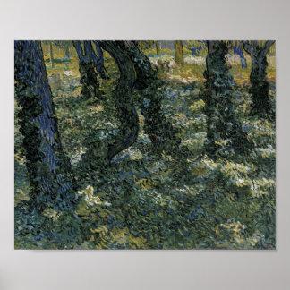 Van Gogh Undergrowth Poster