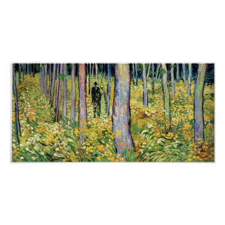 Van Gogh - Undergrowth With Two Figures Print