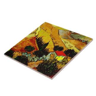 Van Gogh Valley with Ploughman (F727) Tiles