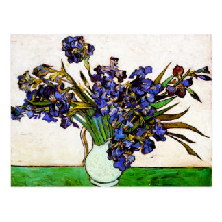 Van Gogh Vase of Irises Postcard
