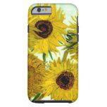 Van Gogh: Vase Twelve Sunflowers Vintage Fine Art Tough iPhone 6 Case