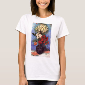 Van Gogh - Vase With Carnations And Other Flowers T-Shirt