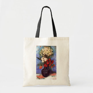 Van Gogh - Vase With Carnations And Other Flowers Tote Bag