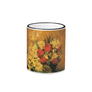 Van Gogh - Vase With Carnations And Roses Mugs