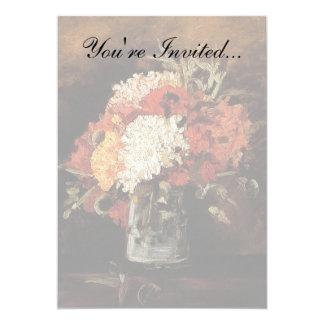 Van Gogh - Vase With Carnations Card