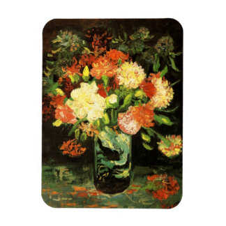 Van Gogh Vase with Carnations Magnet