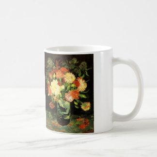 Van Gogh Vase with Carnations Mug