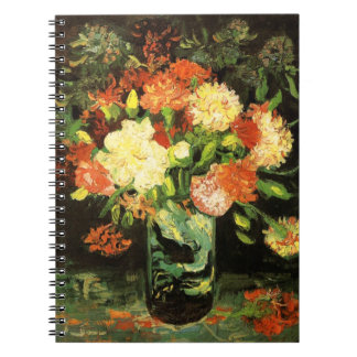 Van Gogh Vase with Carnations Notebook
