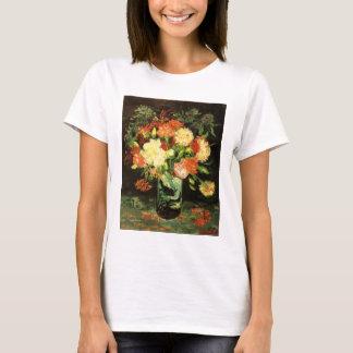 Van Gogh Vase with Carnations T-shirt
