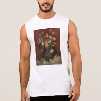 Van Gogh - Vase with Chinese asters and gladioli Sleeveless T-shirt