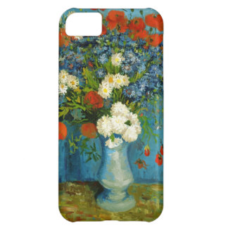 Van Gogh Vase with Cornflowers and Poppies iPhone 5C Cases