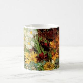 Van Gogh Vase with Daisies and Anemones Fine Art Coffee Mug