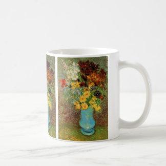 Van Gogh Vase with Daisies and Anemones Coffee Mug