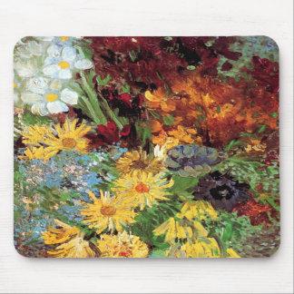 Van Gogh Vase With Daisies Mousepad
