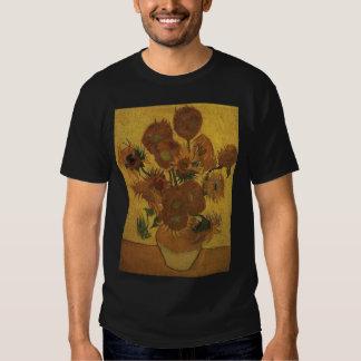 van gogh vase with fifteen sunflowers amsterdam  b t-shirt