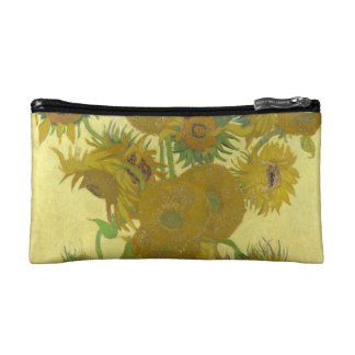 Van Gogh Vase with Fifteen Sunflowers GalleryHD Cosmetic Bag