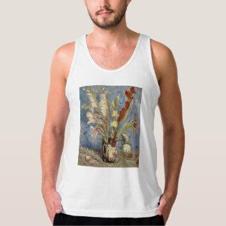 Van Gogh - Vase with gladioli and China asters Tank