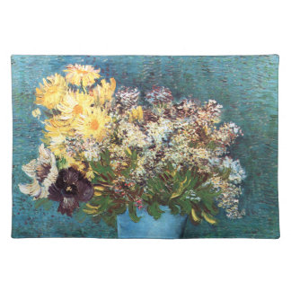 Van Gogh: Vase with Lilac, Marguerites & Anemones Placemat