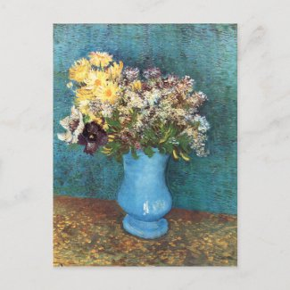 Vincent van Gogh: Vase with Lilac, Marguerites and Anemones