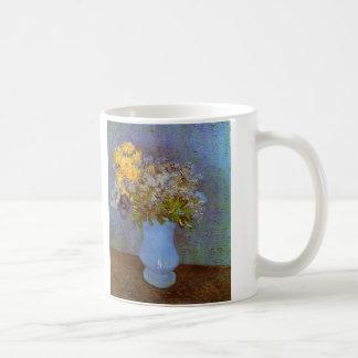 Van Gogh Vase with Lilacs, Daisies and Anemones Coffee Mug