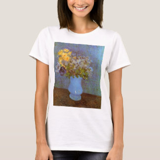 Van Gogh Vase with Lilacs, Daisies and Anemones T-Shirt