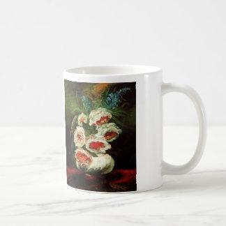 Van Gogh Vase with Peonies Mug