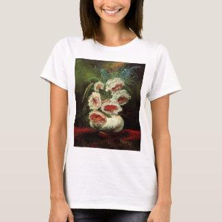 Van Gogh Vase with Peonies, Vintage Fine Art T-Shirt