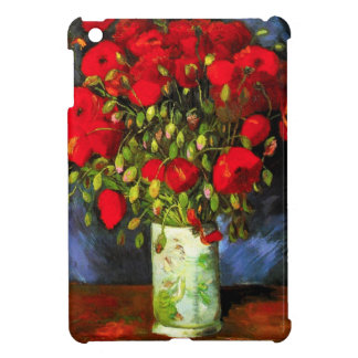 Van Gogh Vase With Red Poppies iPad Mini Case