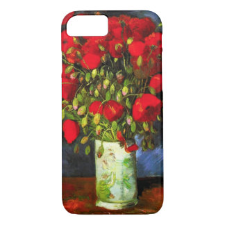 Van Gogh Vase With Red Poppies iPhone 7 case