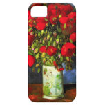 Van Gogh Vase With Red Poppies iPhone Case iPhone 5 Case
