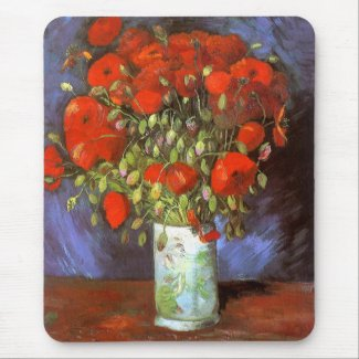 Vincent van Gogh: Vase with Red Poppies