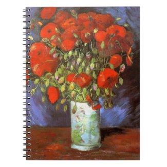 Vincent van Gogh: Vase with Red Poppies
