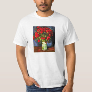 Van Gogh Vase With Red Poppies T-shirt