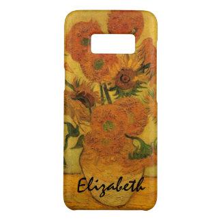 Van Gogh Vase with Sunflowers, Fine Art Flowers Case-Mate Samsung Galaxy S8 Case