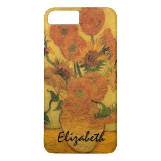 Van Gogh Vase with Sunflowers, Fine Art Flowers iPhone 8 Plus/7 Plus Case