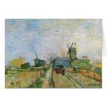 Van Gogh; Vegetable Garden in Montmartre Greeting Card