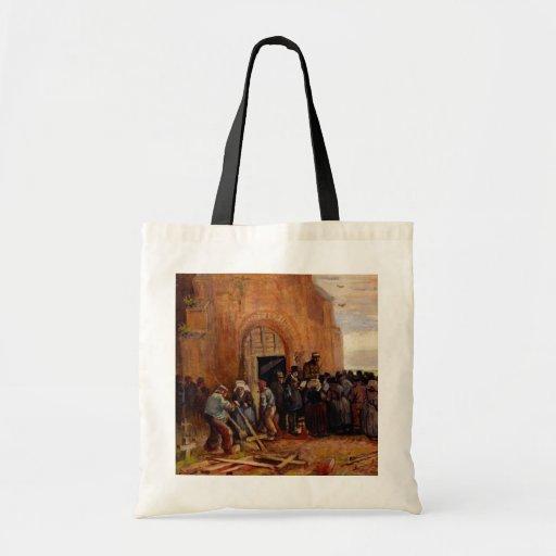 Van Gogh, venta del pedazo del edificio, bella Bolsa De Mano