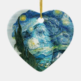 Van Gogh Venus Ceramic Ornament