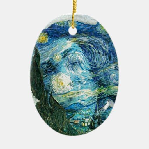 Van Gogh Venus Christmas Tree Ornaments