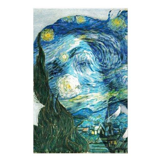 Van Gogh Venus Stationery