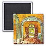 Van Gogh Vestibule Of The Asylum Magnet